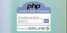 PHP Function Finder