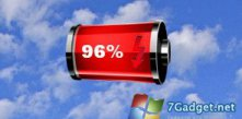 Red Battery Gauge